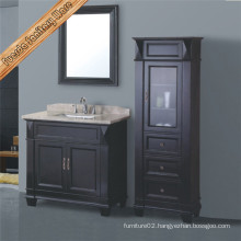 Classical Solid Wood Bathroom Vanity Cabinet
